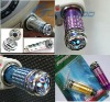 Fresh Air Purifier Oxygen Bar for Car with blue light,Auto anion(ionic)Air Freshener Purifier