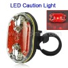 Bike Bicycle 9 Red LED Rear Tail Safety Flashing Light Lamp