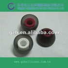Customed silicone earphone covers