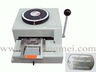 Embosser machine for Metal sheet