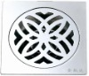 Stainless steel Polished Square Floor drain B-1642-1