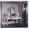Wooden white antique console table with mirror GS-G-2020