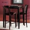 Wooden bar table & bar chair wooden bar sets