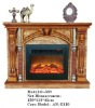 FIREPLACE STOVE AND ELECTRONIC FIREPLACE WOODEN MANEL