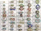various shapes and fashion cloisonne beads (001)