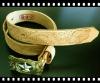 High Quality Handmade Engraved Cowhide Belt