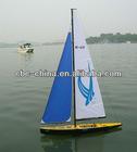 Remote control sailboat