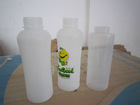 plastic bottle with screw cap