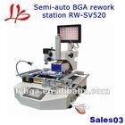 semi-auto infrared bga rework station RW SV520, bga repair system with touch screen