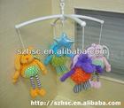 soft hanging toy baby crib hanging toy