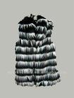 fashion long hair vest
