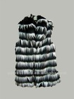 fashion long hair vest