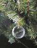 crystal christmas ornament