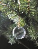 crystal christmas ornament