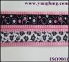 Ribbon pink nylon webbing