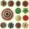 fashion alloy button