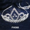 Artificial bridal jewellery fashion bijoux crown