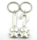 fashion alloy bear lover couple key chain(K100049)