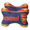Bone shape car neck cushion Football team branded