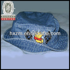 2013 Boy Child Bucket Sun Hat Cap With Embroidery Logo