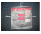 Hotsale 2012 new listing pvc hook bag for underware packing