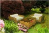 outdoor furniture of rattan sofa made by China