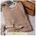 Breastfeeding clothing,100% coloured cotton breastfeeding wear/shirt