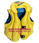 PVC inflatable children swimming life jacket with two buckle EN71 approved