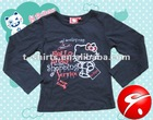 100% cotton Kids Wear girls clothing sets