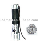 3AA LED flashlight torch With rubber handle