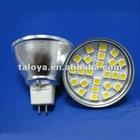 MR16 12V SMD bulb light SMD5050 24LED 3.5Watt