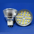 MR16 12V SMD bulb light SMD5050 24LED 3.5Watt