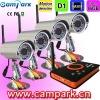2.4GHz Wireless CCTV Camera + SD DVR Video Recorder