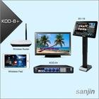 Professional HDMI Karaoke Supports Two 3TB Hard Drive & Wireless Touch Screen(KOD-8+)