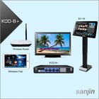 Professional HDMI Karaoke Supports Two 3TB Hard Drive & Wireless Touch Screen(KOD-8+)