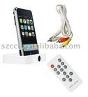 AV Dock Station for iPhone 4S&IPod