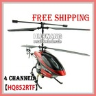 4 channel rc helicopter gyro HQ 852 RTFremote control R/C helicopter HQ852