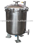 (sus304 stainless steel,50years use life)biogas purifier system