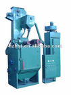 Apron shot blasting equipment