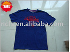 2012 fashion 100%combed Cotton cheap Promotion t shirt for men , OEM manufacture