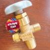 High pressure cylinder valve, cylinder valves