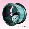 Low noise round style fan