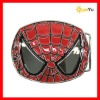 Zinc alloy spiderman belt buckle