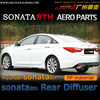 aero parts PP rear bumper diffuser for 2012 Hyundai Sonata 8th