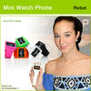 MP3, FM, camera, gsm mobile phone watch with USB plug