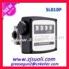 Mechanical Diesel Oil Flow meter with 4 digital subtotal pump accessory