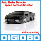 A5 Auto Radar Laser detector Russinan Speaking vehicle speed control detector Radar detector(lamborghini appearance)