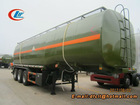 3 axles chemical liquid semitrailer