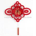 chinese-style acrylic clock