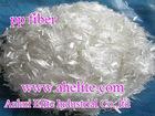 good price polypropylene fiber,pp fiber for building construction